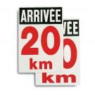 Panneau distance 60x40cm Ref. 1801